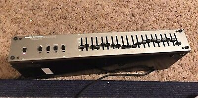 The Octave Audio Control Stereo Octave Equalizer Subsonic Filter L12712 USA