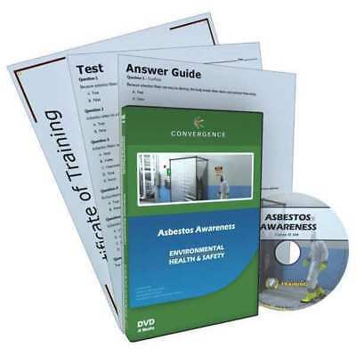 CONVERGENCE TRAINING C-804 Asbestos Awareness,DVD,16 min. G3891100