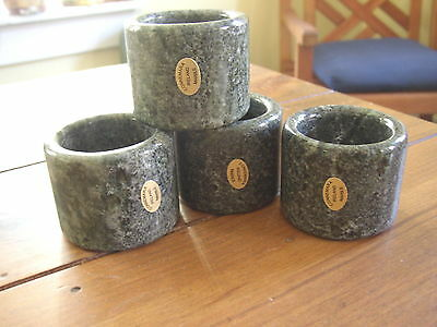 Connemara Marble by Gerard Napkin Rings, set of 4