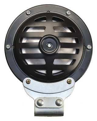 WOLO 372LC-24/48 Industrial Horn,Black Painted,5 in. dia.