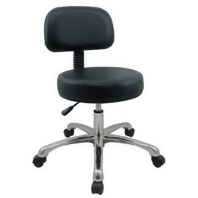 "Pneumatic Task Chair Backrest, Height 15"" to 20"", Plastic/Foam Black, 5NWF8"