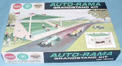 Ac Gilbert Auto-Rama American Flyer Slot Car Racing Grandstand Kit #19340 Boxed