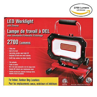 Snap-on LED Worklight with Dimmer 2700 Lumens [Lighting, 35W, Tools] NEW