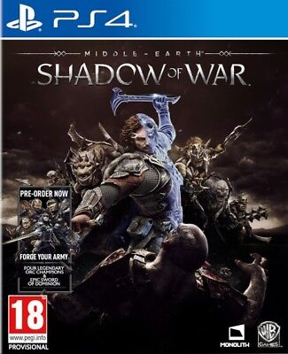 Middle-earth: Shadow of War (PS4)  BRAND NEW AND SEALED - QUICK DISPATCH