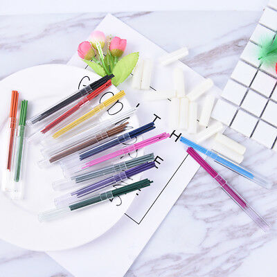 6x/Box 2.0mm Colored Mechanical Pencil Fefill Lead Erasable Student StationaryWB