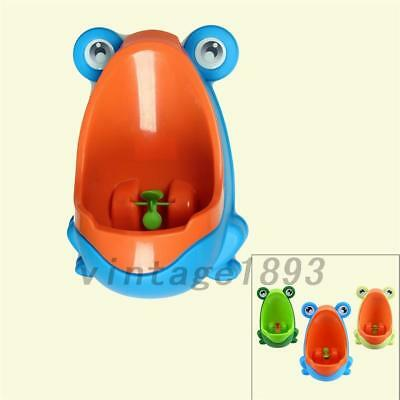 Frog Kids Potty Toilet Training Children Urinal for Boys Pee Trainer Bath 1PCS
