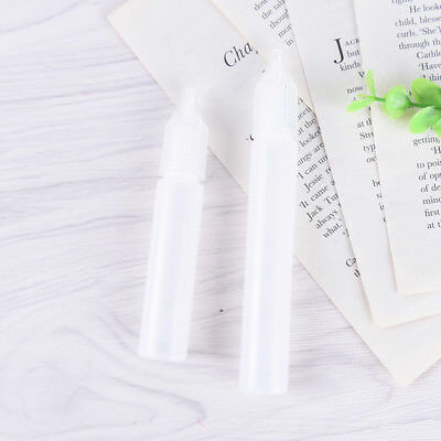 1/5x Empty Plastic Squeezable Dropper Bottles For Liquid Eye Drops Container Pop