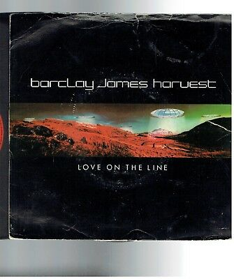 Barclay James Harvest Love On The Line Ps 45 1979