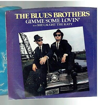 Blues Brothers Gimme Some Lovin' Ps 45 1980