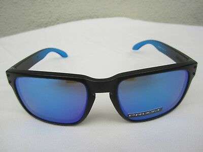 New OAKLEY HOLBROOK Prizm SUNGLASSES Black 2 Blue SNOWBOARD GOLF SKI SURF SKATE