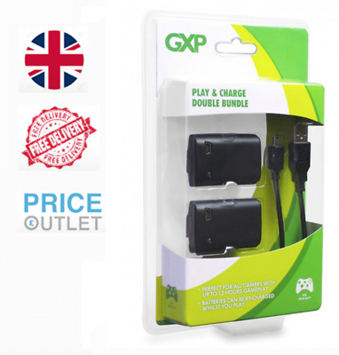 GXP Xbox 360 Dual Controller Charger Genuine 2 Battery Pack - BRAND NEW SEALED (