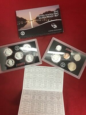 2017-S United States Silver Proof Set