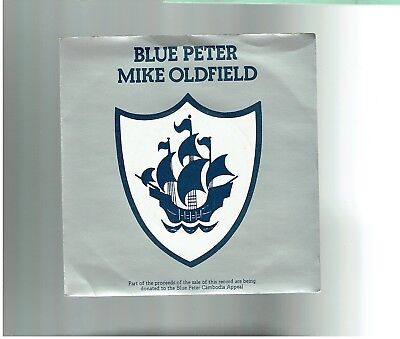Mike Oldfield Blue Peter 45 Ps 1979