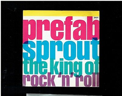 Prefab Sprout King Of Rock N Roll Ps 45 1986