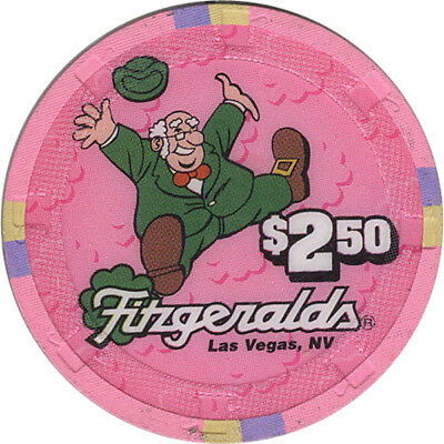Fitzgeralds Casino - $2.50 Casino Chip