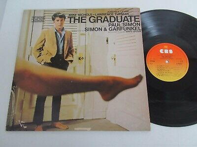 The Graduate/music By Simon & Garfunkel & David Grusin  Lp 1968 Cbs S 70042