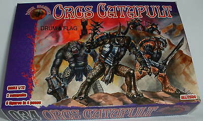 Dark Alliance #72034. Orc Catapults. 1/72 Scale. Not Gw.