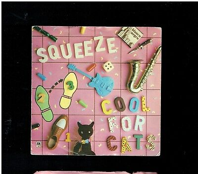 Squeeze Cool For Cats Ps 45 1979
