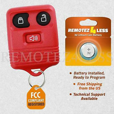 Keyless Remote for 2007 2008 2009 2010 2011 2012 2013 2014 2015 Ford Edge Red
