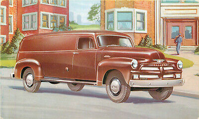 Chevrolet Trucks For 1954 Models For Every Purpose Advertising Postcard View