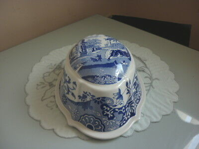 Spode Blue White Italian Jelly Mould