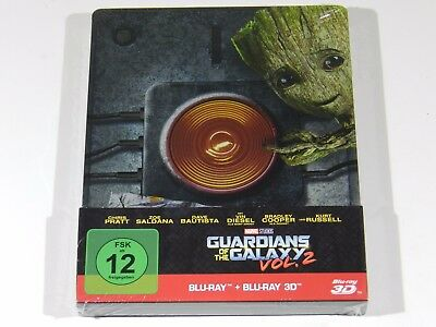 Guardians of the Galaxy Vol. 2 3D+2D Blu-ray Steelbook Edition [Germany]