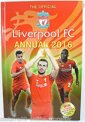 Liverpool Fc 2016 The Official Football Annual