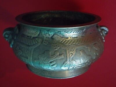 Old Bronze / Brass Incense Censer