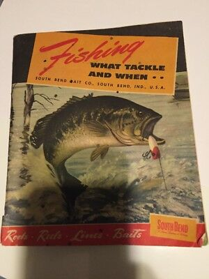 1949 72 Page Fishing What Tackle And When Catalog Rods.reels.lines.baits