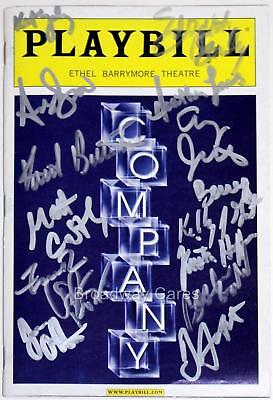 2006 Broadway COMPANY Partial Cast Signed Opening Night Playbill