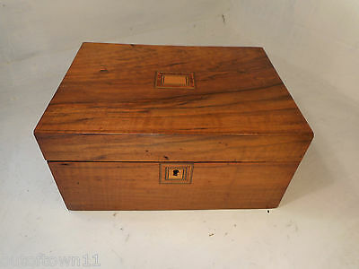 Antique Walnut  Writing Slope Box ,   ref 2591