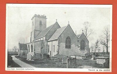 Old Postcard, Ashton Keynes Church Nr. Cirencester