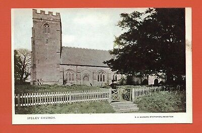 Old Postcard Ipsley Church Nr. Redditch