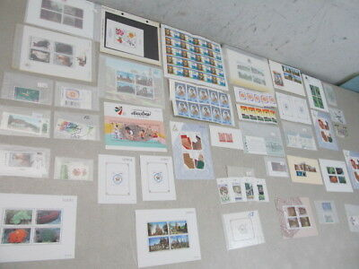Nystamps Thailand many mint NH stamp & souvenir sheet collection high value!
