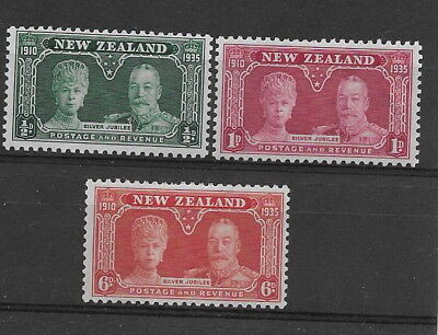 New Zealand. 1935. Silver Jubilee. SG573/5. mm.  (3)