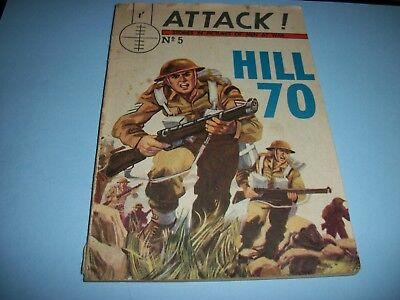 1964  Attack ! Stories in Pictures Of Men At War comic no. 5