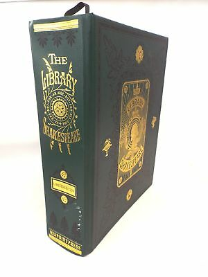 Limited Edition THE LIBRARY SHAKESPEARE Large Illustrated Hardback Book - F11