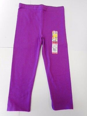 Toddler girls leggings Girls pants Girls clothes Stretch pants Pink Purple 2T-4T