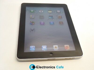 """Apple A1219 9.7"""" 32GB iPad Touchscreen Wi-Fi Only 1st Generation Black/Silver"""