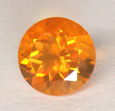 Magnificent **aaa** Vivid Fanta Orange Portuguese Round Cut Mexican Fire Opal