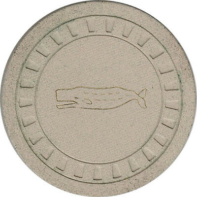 Marshall Islands Military Token - Whale (White Clay)