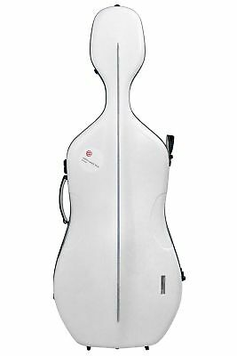 Gewa Cello Koffer Air - Weiss / Rot