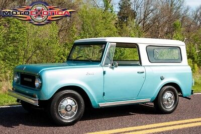 1969 International Harvester Scout 800A 1969 International-Harvester Scout 800A