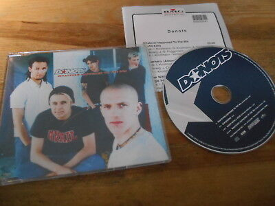 CD Punk Donots - Whatever Happened To The 80s (4 Song) Promo BMG GUN +Presskit