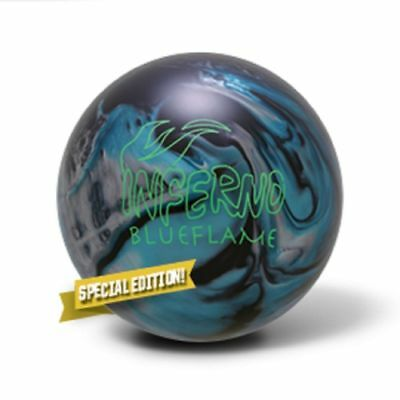Brunswick Blue Flame Inferno 15LB Reactive Bowling Ball SPECIAL LIMITED EDITION