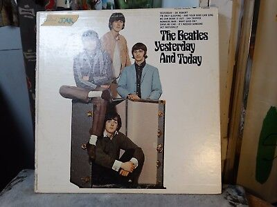Beatles Butcher Cover 2nd State Paste Over Yesterday And Today LP