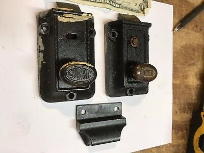 antique door locks. Perfect Antique Vintage Antique Door Lock Corbin Eagle Night Latch Dead Bolt  Hardware Throughout Locks