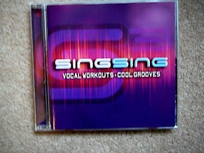 CD Singing Vocal Workout (vocal exercises) in A1 condition.