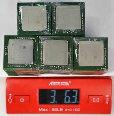 LOT of 70 Xeon Processors for CPU Chip Collection or Gold Recovery 3.39 lbs