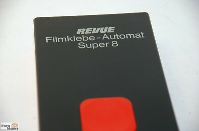Super 8 Adhesive Press REVUE FILM WITH INSTRUCTIONS BOXED S8 klebe-automat